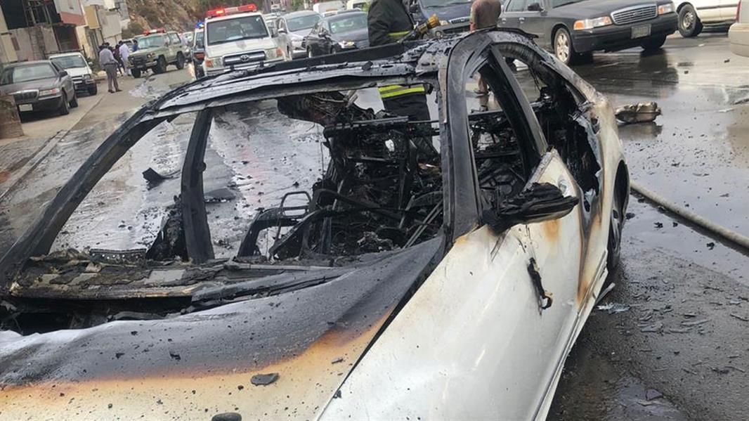 حادِث مروري في منطقة الباحة
