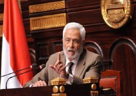 المستشار حسام الغريانى رئيس الجمعية التأسيسية لوضع الدستور
