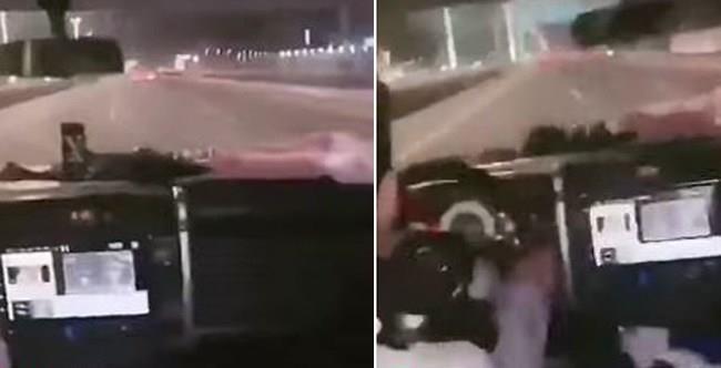 """""""شرطة حائل"""" تضبط عشرينيا ظهر في مقطع فيديو وهو يقود بسرعة عالية"""
