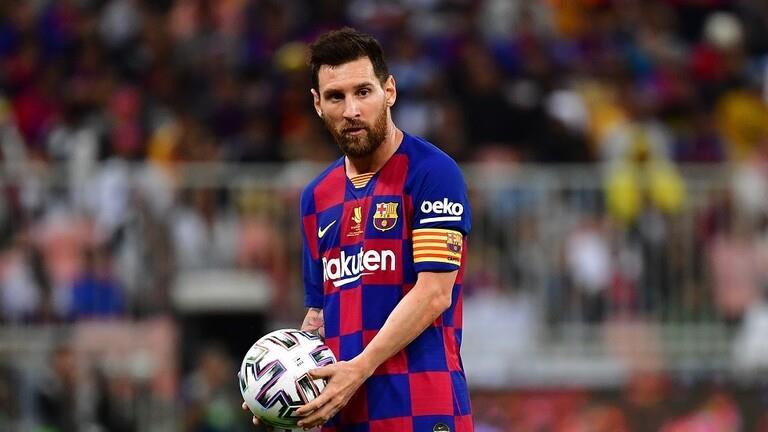 مشادة بين ميسي وجواو فيليكسلاعب أتلتيكو مدريد