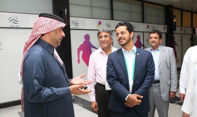 وزير الرياضة في اليمن الدكتور رأفت الأكحلي