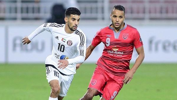 يوسف العربي يقود لخويا إلى اكتساح الجزيرة الإماراتي