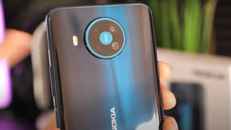 شاهد.. شركة نوكيا تزيح الستار عن هاتفها الجديد 8.3 5G