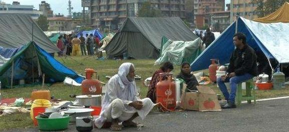 نيبال.. القتلى 5500 وتزايد معاناة المشردين