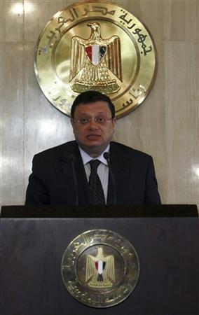 المتحدث الرئاسي المصري ياسر علي