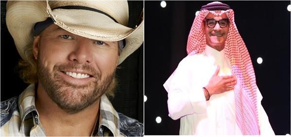 رابح صقر والأمريكي توبي كيث يحييان حفلًا غنائيًا بالرياض.. والشروط: حضور رجالي وزي سعودي