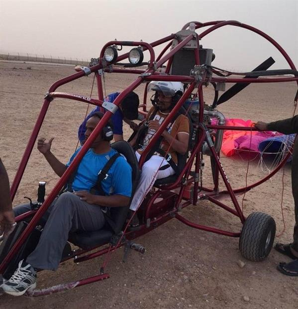 إنشاء أول ناد للطيران الشراعي في الأفلاج