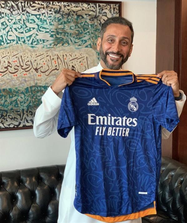 سامي الجابر يكشف عن هدية نادي ريال مدريد له