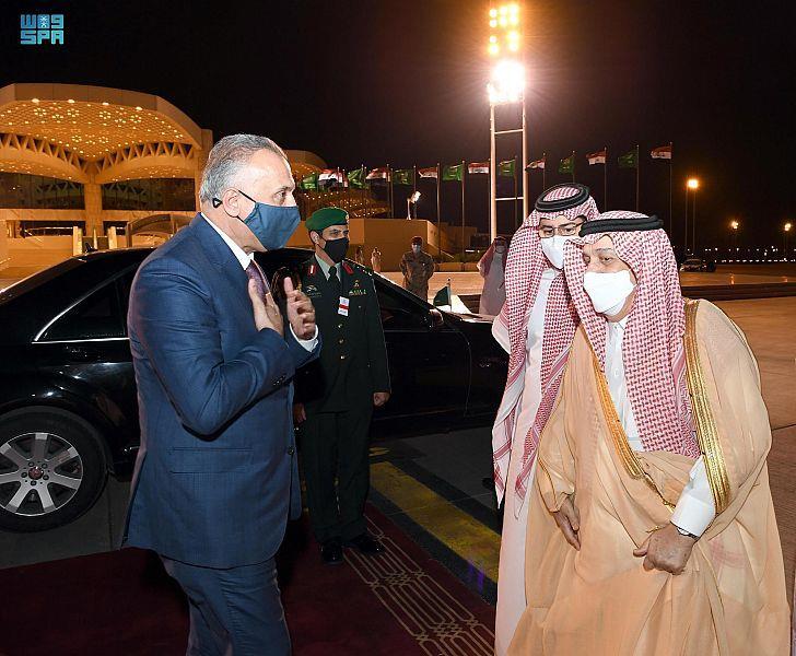 رئيس وزراء جمهورية العراق يغادر الرياض