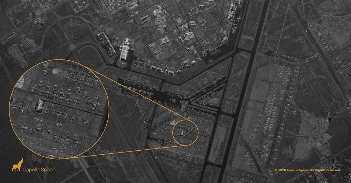 قمر صناعي جديد يتيح رؤية واضحة لأي بقعة في العالم حتى داخل المباني مهما كانت الظروف