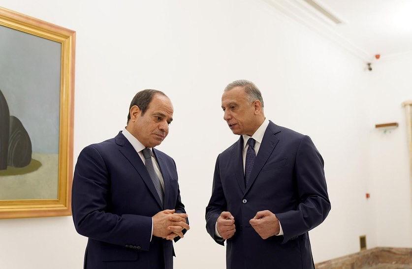 في أول زيارة لرئيس مصري للعراق منذ 30 عاما .. قمة ثلاثية تجمع القاهرة وعمان وبغداد