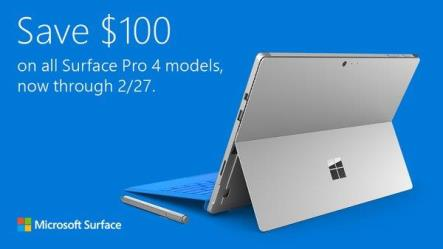 surface pro 4 discount