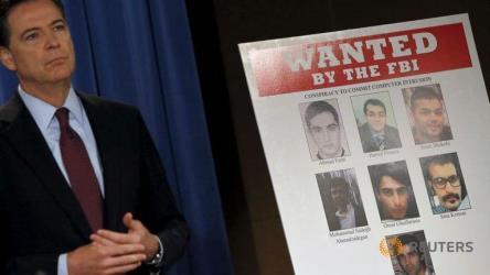 اتهام 7 من قراصنة إيران بالهجوم على بنوك وسد بأمريكا