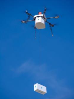 طائرة لتوصيل المنتجات في المدن