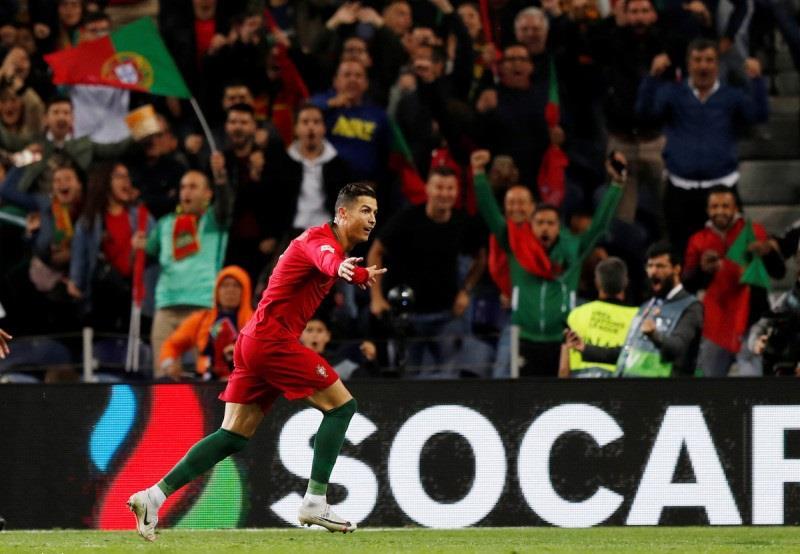 رونالدو يطير بالبرتغال إلى نهائي الأمم الأوروبية