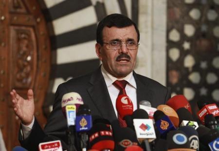 رئيس الحكومة المؤقتة في تونس علي العريض