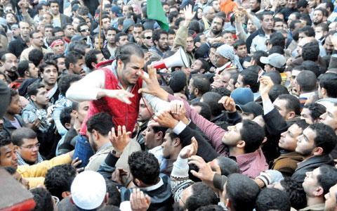 الاشتباكات بين مناصري الإخوان والناشطين بالاسكندرية
