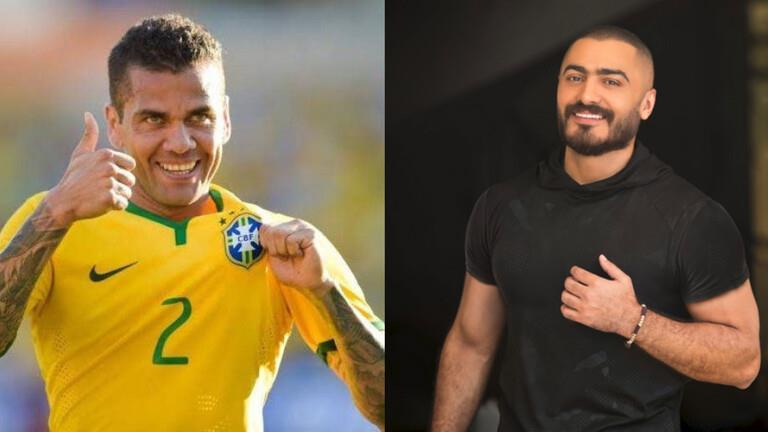 """بالفيديو.. نجم المنتخب البرازيلي يغني بالعربية مع تامر حسني """"يولع الدنيا"""""""
