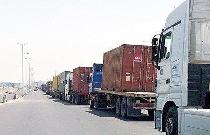اوقات منع دخول الشاحنات