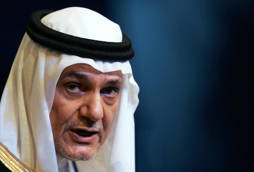 رئيس الاستخبارات السابق الأمير تركي الفيصل