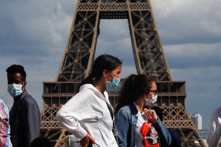 فرنسا تلغي واجب ارتداء الأقنعة