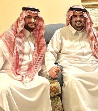 عبدالعزيز بن فهد بزيارة الامير عبدالاله بن عبدالعزيز
