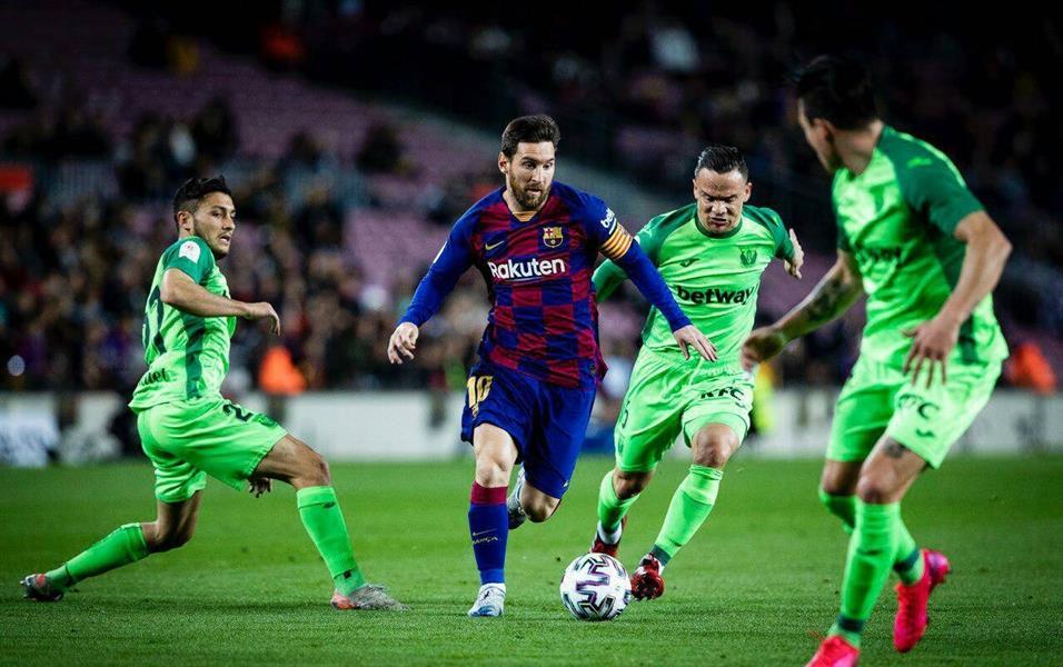 برشلونة يتجاوز ليجانيس بخماسية ويصعد لدور الثمانية لكأس الملك