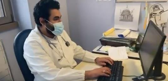 مبتعث يتخصص في تأهيل المصابين بكورونا في إيطاليا