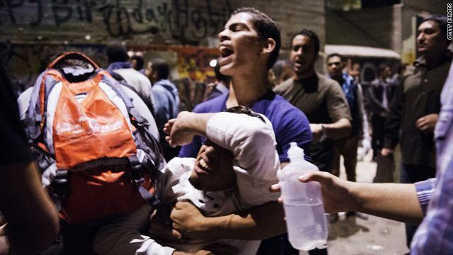 الاحتجاجات في القاهرة