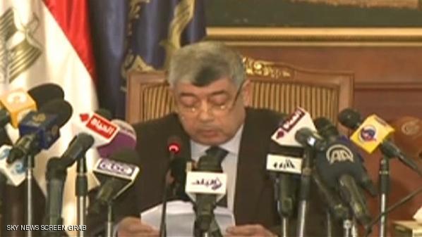 وزير الداخلية المصري محمد إبراهيم