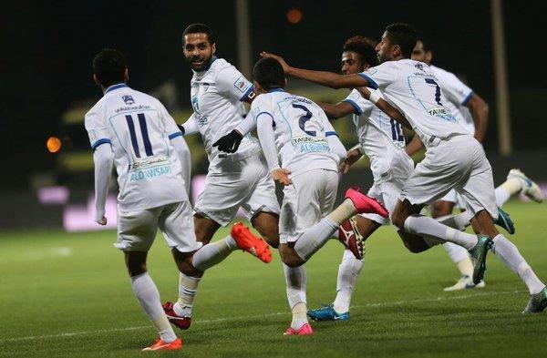 لاعبو الهلال يحتفلون بالفوز على الفيصلي عبر «تويتر»