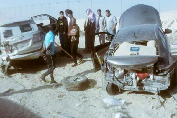 حادث سيارة ساهر