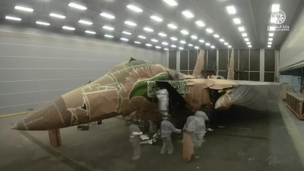 استعدادات القوات الجوية لاحتفالات اليوم الوطني