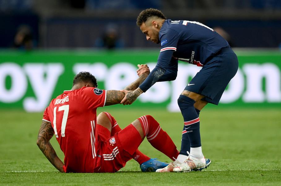مباراة باريس سان جيرمان وبايرن ميونخ
