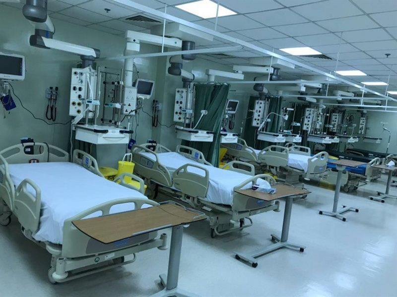 زيادة أسرة العناية المركزة في مستشفيات