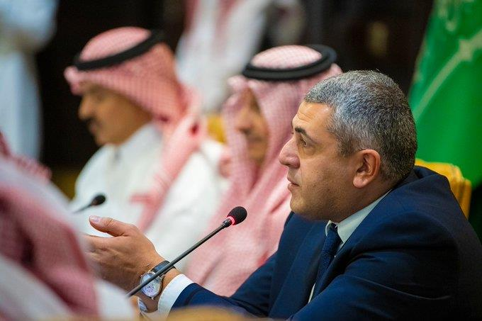 """""""الخطيب"""" والأمين العام لمنظمة السياحة العالمية يزوران المكتب الإقليمي للمنظمة بالرياض"""