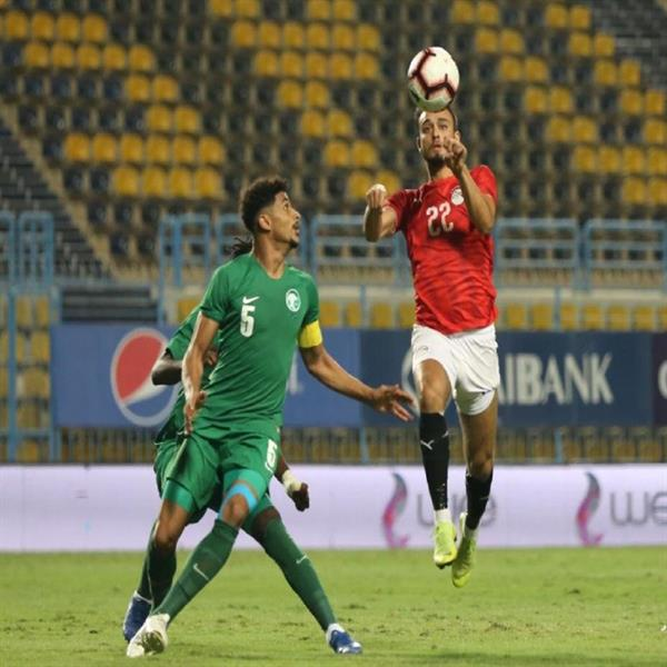 وديًّا.. الأخضر الأولمبي يخسر ضد المنتخب المصري