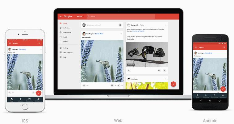 Introducing the new Google plus 2