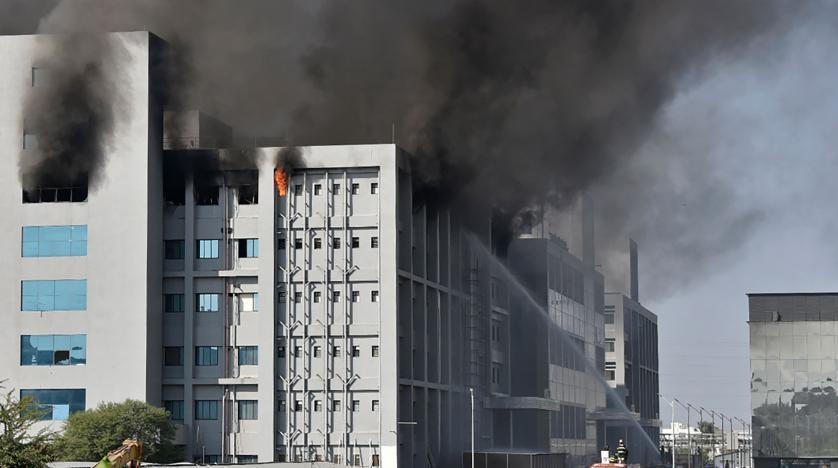 اندلاع حريق في أكبر معهد لإنتاج اللقاحات في العالم بالهند