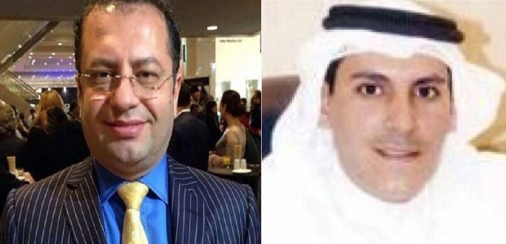 رجل أعمال كويتي والمعارض إيراني
