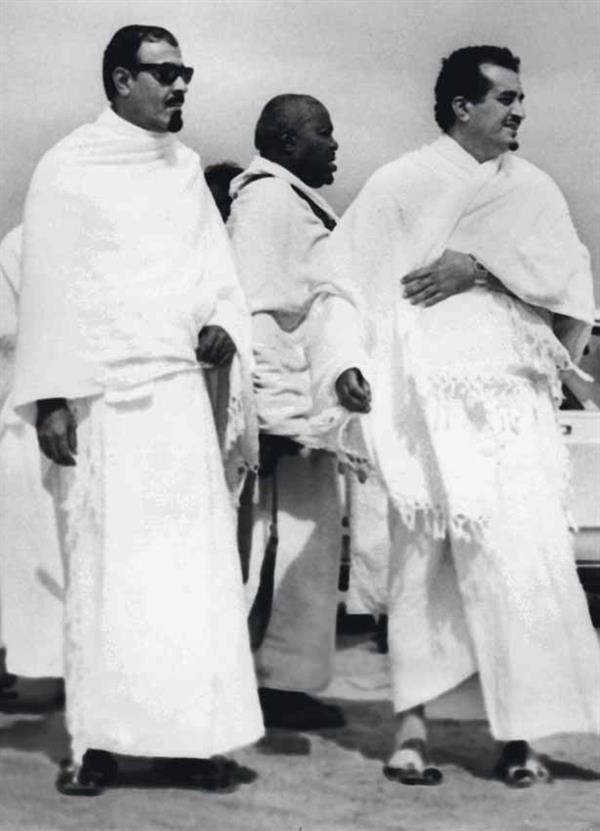 الملك فهد والملك عبد الله: