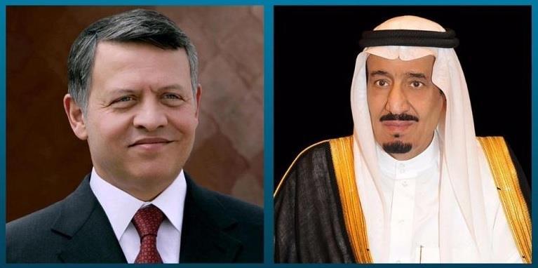 الملك سلمان والملك عبدالله الثاني