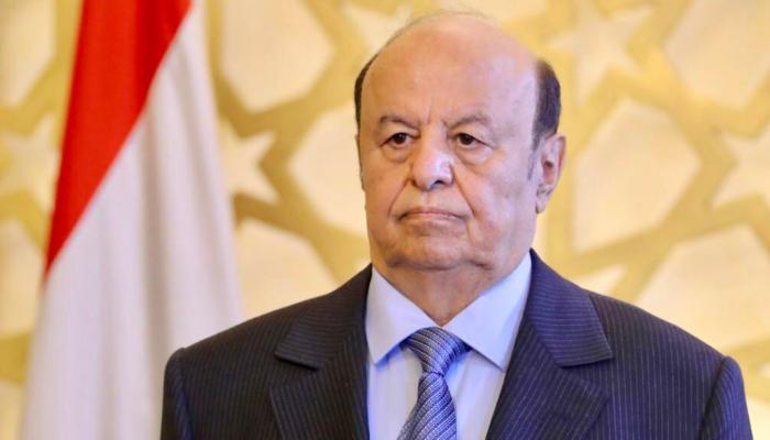 الرئيس اليمني: ميليشيا الحوثي الإرهابية مستمرة في التصعيد لخدمة أجندة طهران ونرفض فرض التجربة الإيرانية