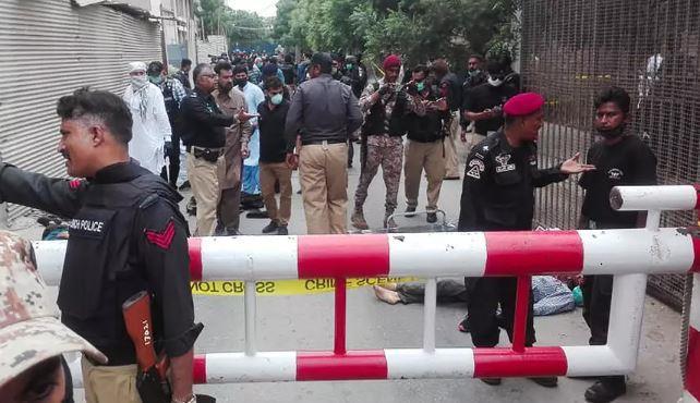باكستان: قتلى في هجوم على بورصة كراتشي والشرطة تعلن مقتل المهاجمين