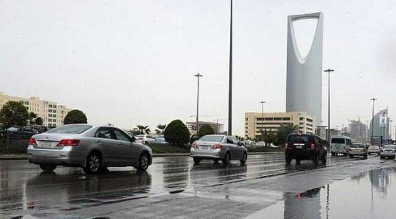 """""""الأرصاد"""": أمطار رعدية وتدن في الرؤية خلال الساعات القادم بالرياض ومناطق أخرى"""