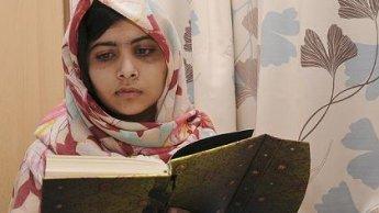 الشابة الباكستانية ملالا يوسفزاي