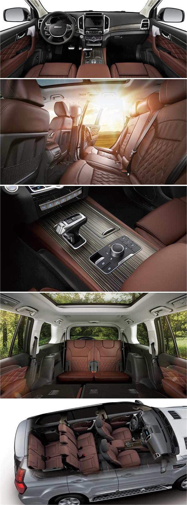 """سيارة صينية جديدة منافسة لـ""""لاندكروزر"""""""