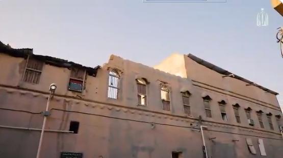 لمحة معمارية من قصر الملك فهد في حي الحنبلي بالرياض