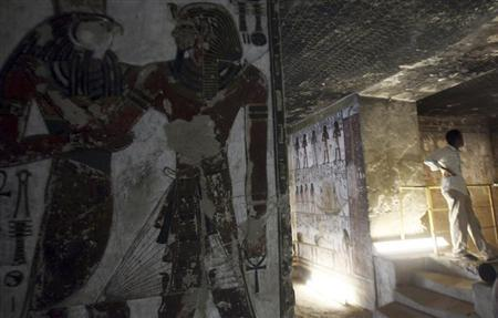 مقبرة سيتي الاول في الاقصر