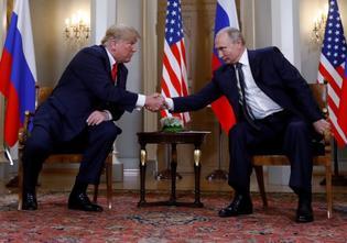 ترامب يعبر عن تطلعه لاجتماع ثان مع بوتين